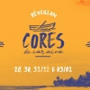 panfleto Cores de Caraíva - Pescador de Illusões com Marcelo Falcão