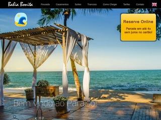 panfleto Restaurante Bahia Bonita
