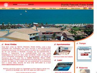 panfleto Monte Pascoal Praia Hotel