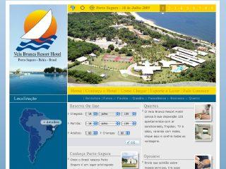 panfleto Vela Branca Resort Hotel