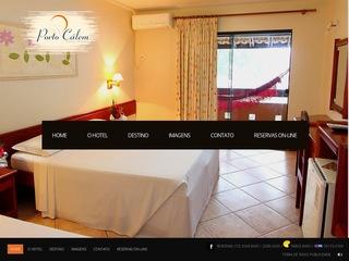 panfleto Porto Calém Praia Hotel