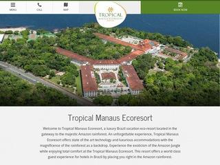 panfleto Tropical Hotels & Resort Brasil