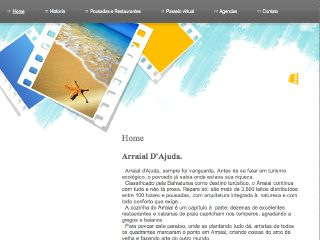 panfleto Arraial-dajuda.com.br