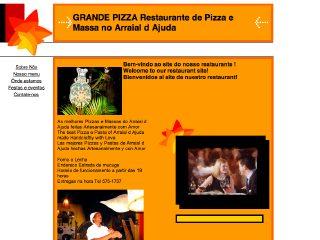 panfleto Grande Pizza