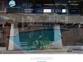 panfleto Oceano Porto Hotel