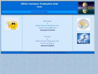 panfleto Silvia Carrasco Traduções Ltda