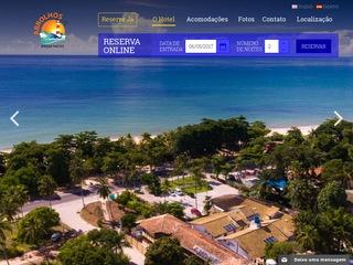 panfleto Abrolhos Praia Hotel