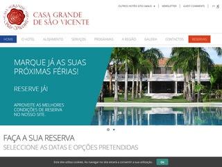 panfleto Casa Grande de São Vicente