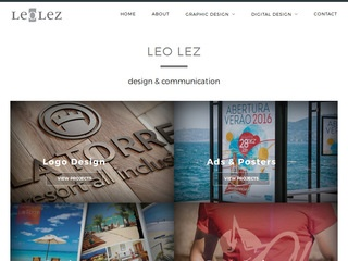 panfleto Leo Lez - Design e Comunicação