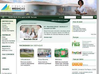 panfleto Faculdade de Ciências Médicas - Cabrália