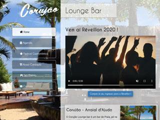 panfleto Corujão - Lounge Bar Restaurante