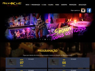 panfleto Morocha Club