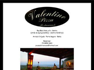 panfleto Restaurante e Pizzaria Valentino