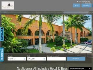 panfleto Náutico Praia Hotel & Convention Center