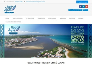 panfleto Secretaria de Turismo de Porto Seguro