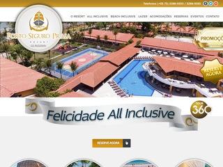 panfleto Porto Seguro Praia Resort