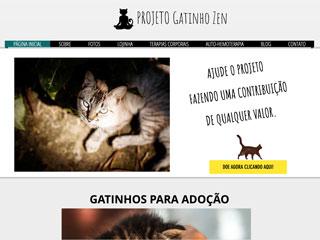 panfleto Projeto Gatinho Zen